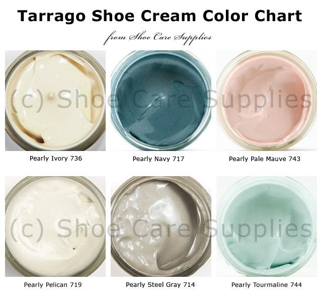 Tarrago Shoe Cream Pearly Colors